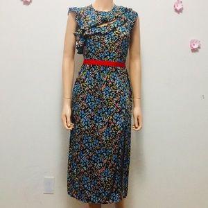 TopShop Stylish Floral Maxi Dress Size (4)